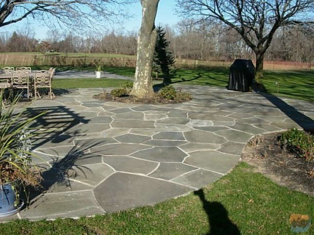 Image Result For Flagstone Patio Mortar Joints Bluestone Patio Patio Stones Flagstone Patio