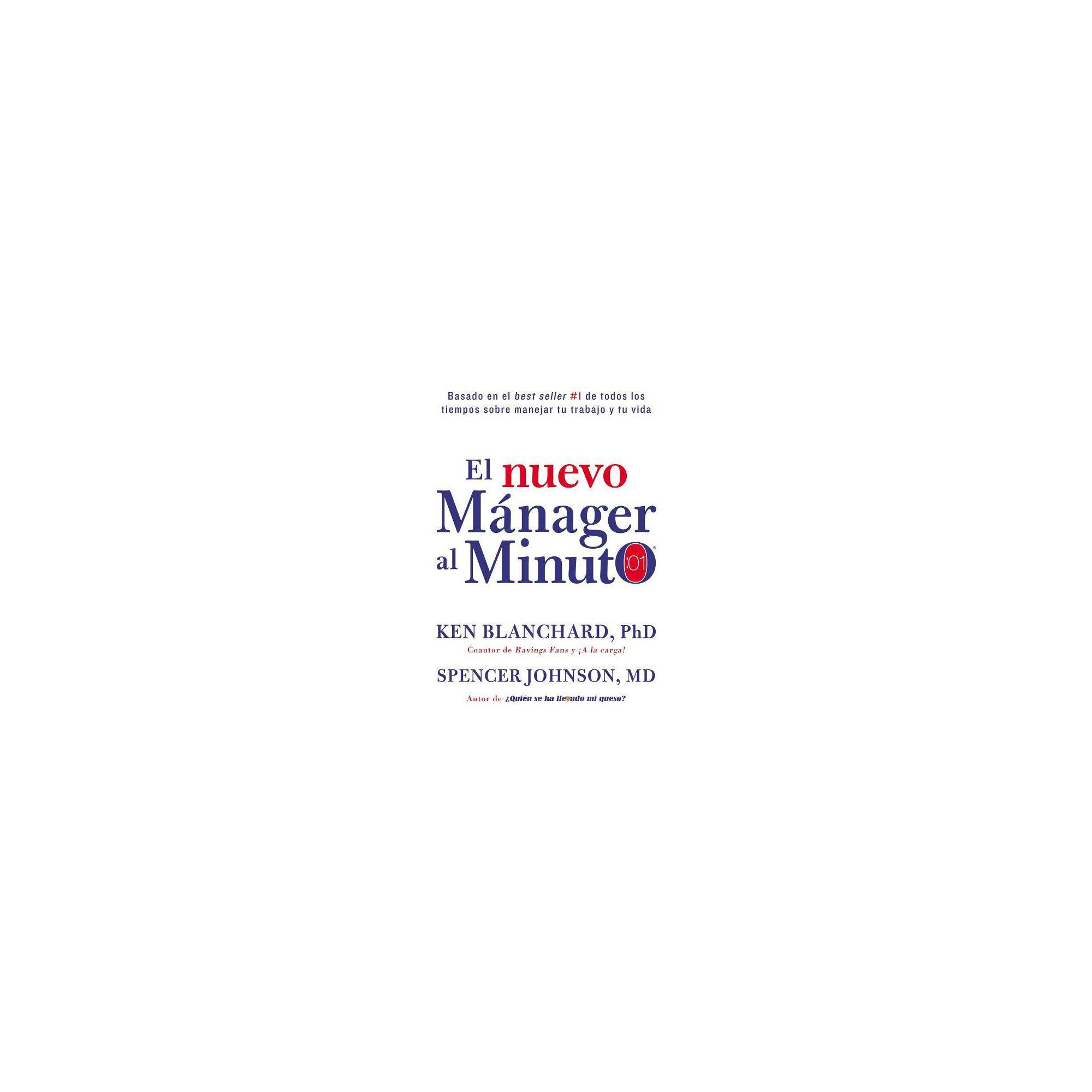 Nuevo Manager Al Minuto One Minute Manager