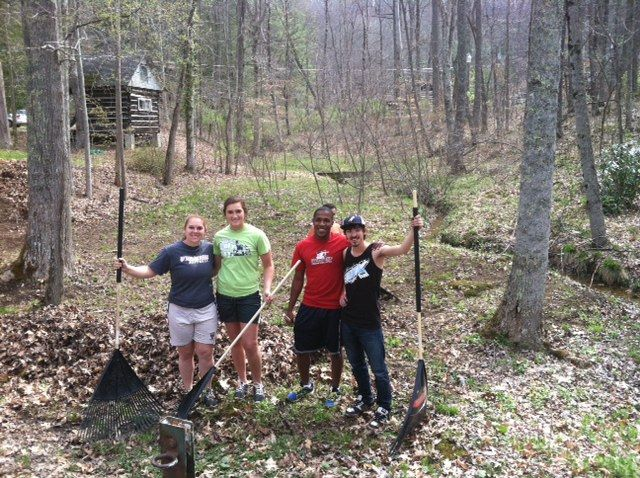 Camp Bethel clean up project