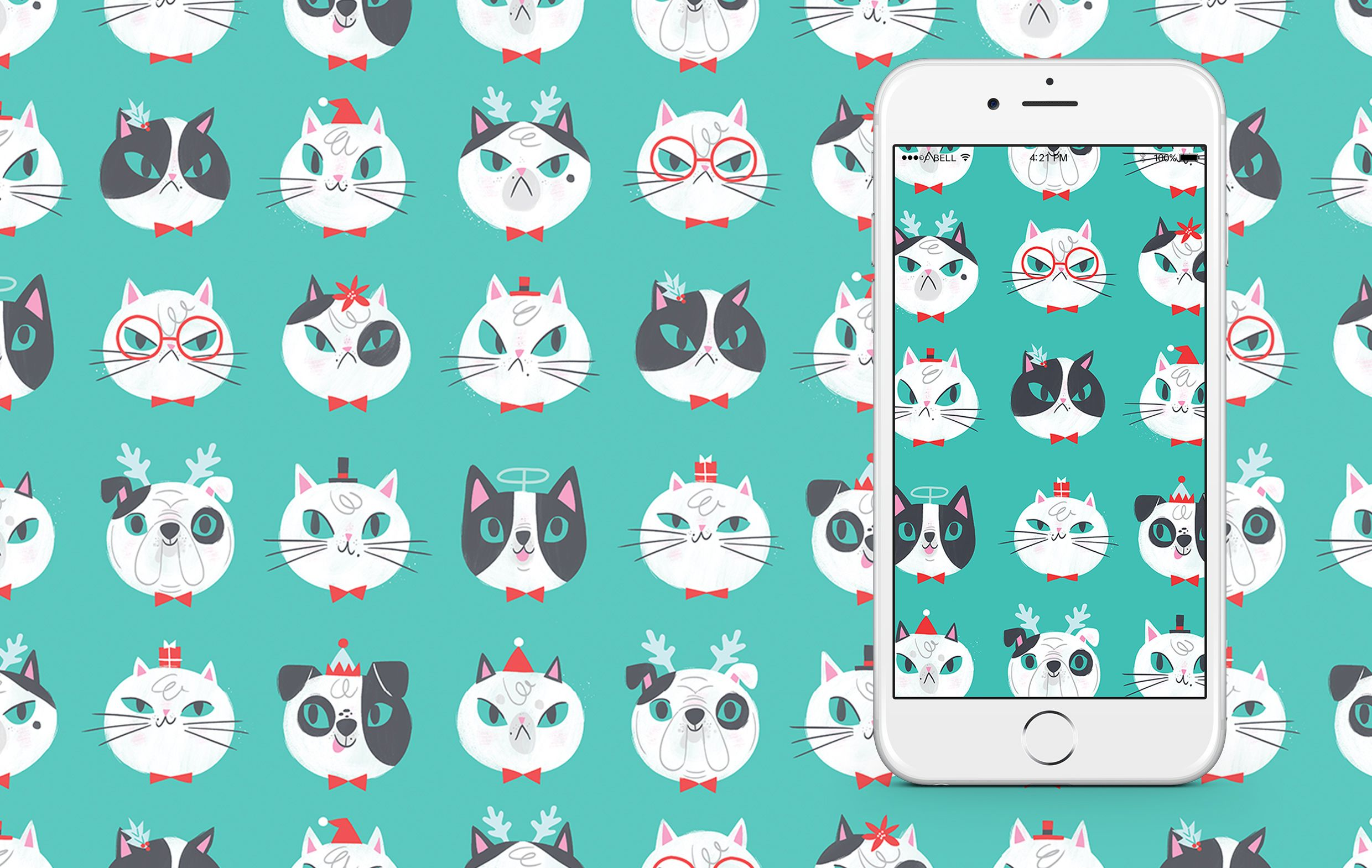 Snazz up your tech with these super cute cats & dogs, all