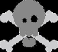 Pirate, Crossbones, Skull, Death'S Skull