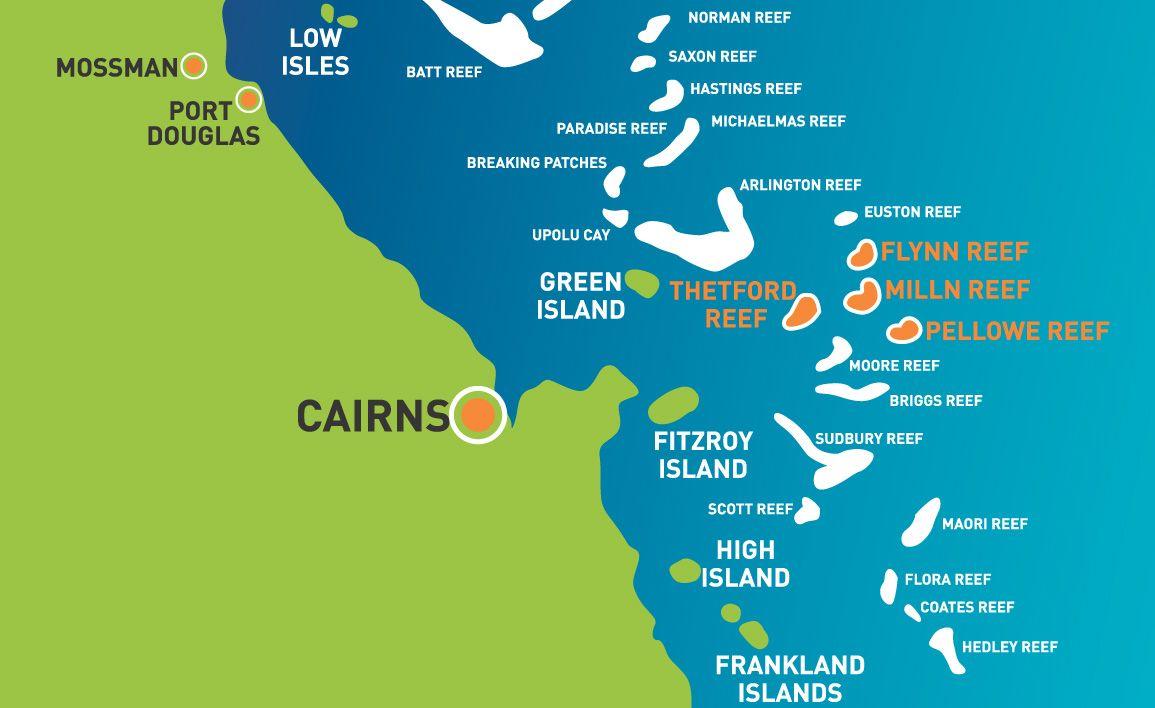 Australia Great Barrier Reef Green Island Great Barrier