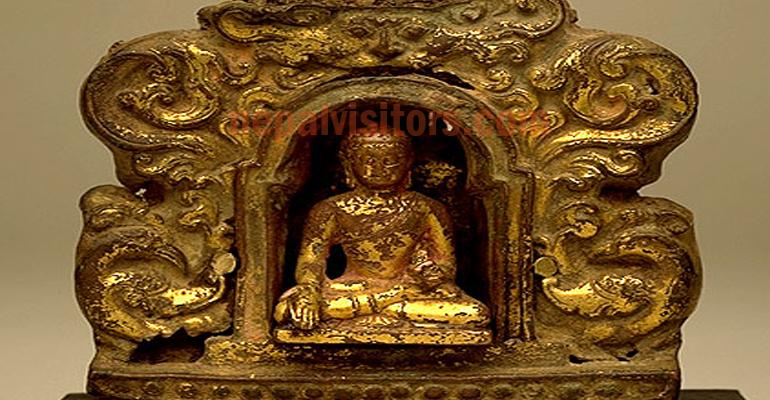bouclier Mahakala Tibétain