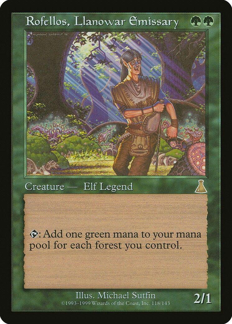 Magic the Gathering MTG Elvish Archdruid M12 Rare Nr Mint
