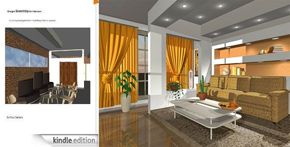 Google Sketchup For Interiors A Conceptual Guide For Modeling I