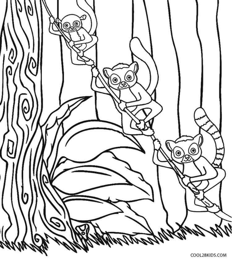 Printable Madagascar Coloring Pages For Kids | Cool2bKids | Film ...