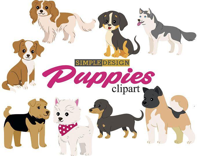Hund Clipart 2 Welpen Clipart Susse Hunde Clip Art Welpen Clipart