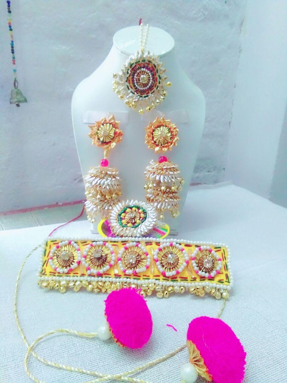 40+ Gota Jewellery Spotted Online for weddingtrend2019