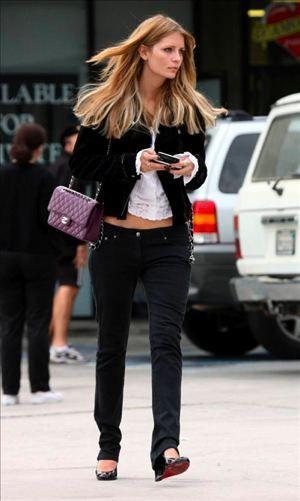 Mischa Barton Chanel bag