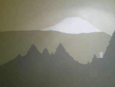 Easy To Paint Mountain Tree Mural For Casa De Nakada