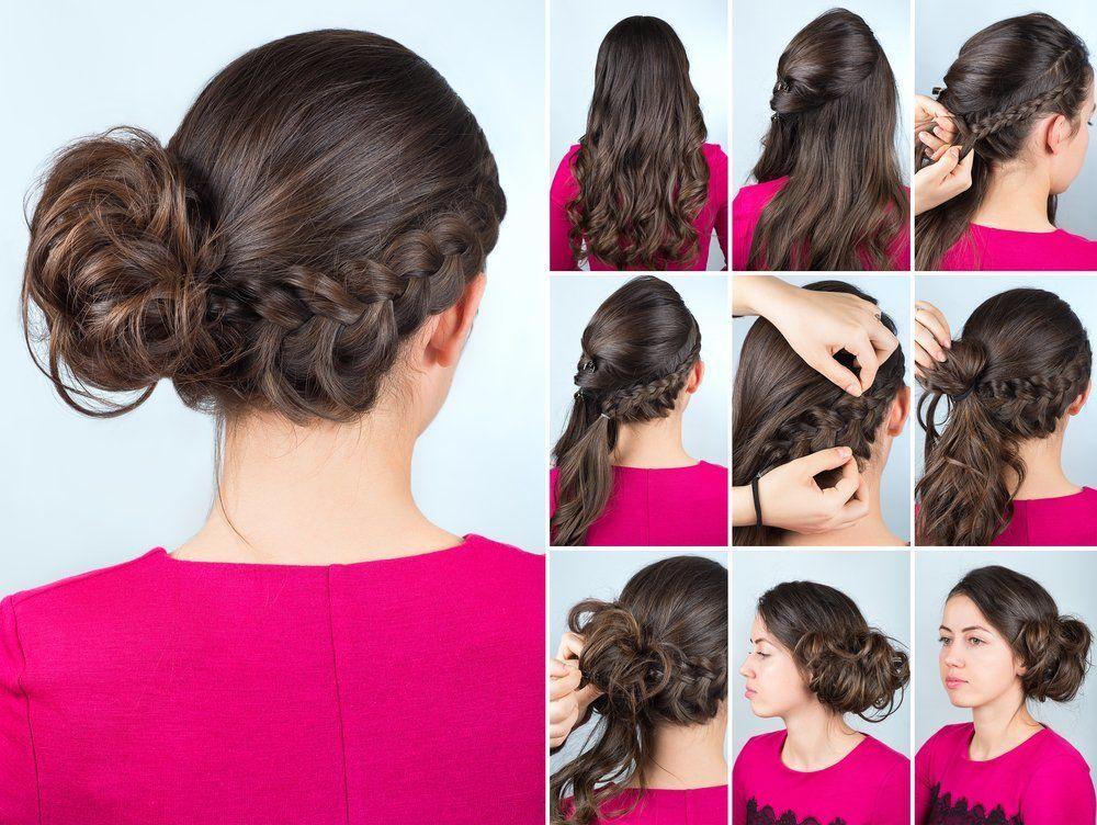 Frisuren mit seitlichem dutt