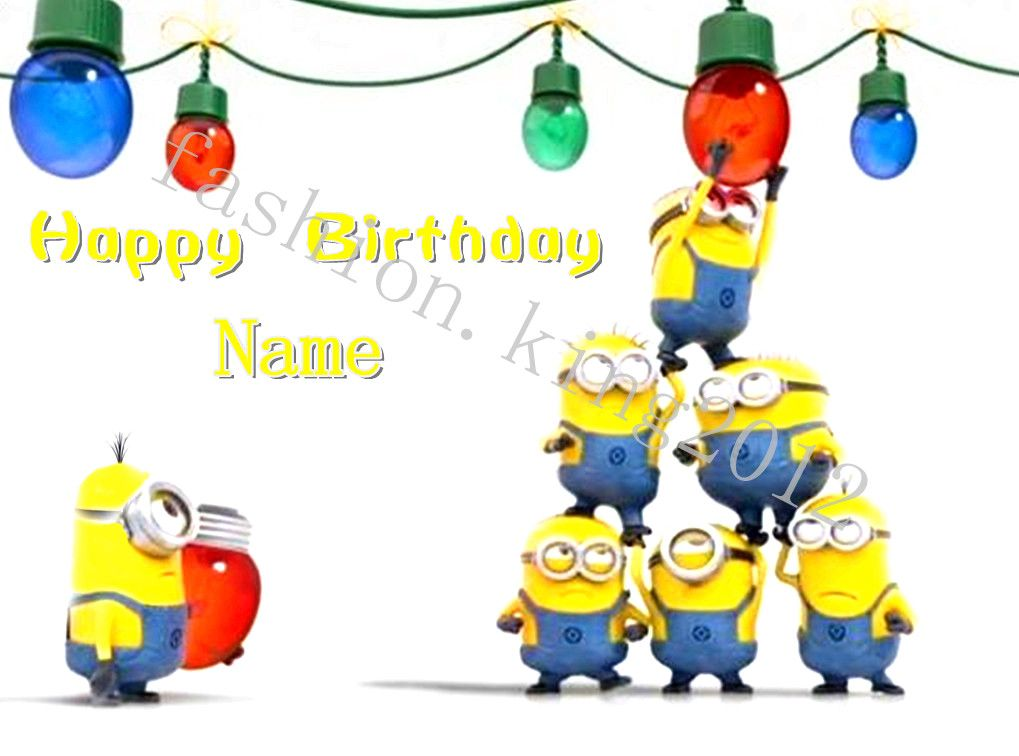Minions Singing Happy Birthday – Minion Happy Birthday Card