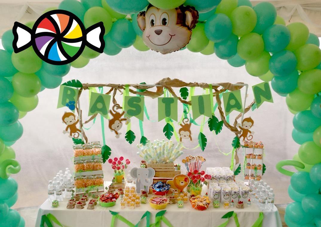 M 225 s de 1000 ideas sobre decoraciones de fiesta de safari en pinterest - Mesa De Dulces Para Cumplea Os Decoraci N Animalitos Safari