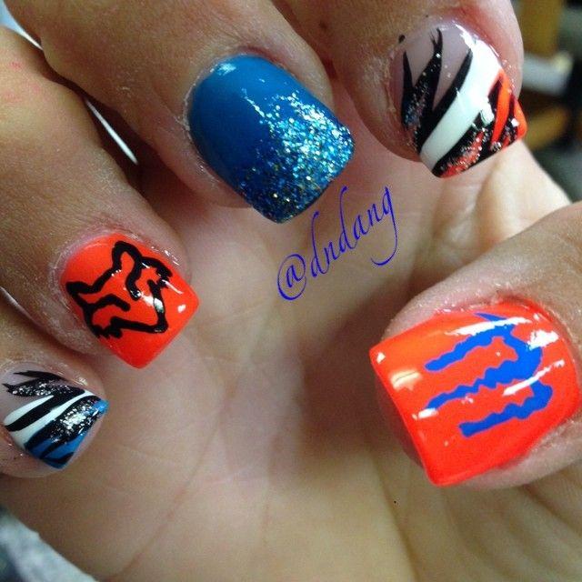 Fox Nail Designs: Instagram Photo By Dndang #nail #nails #nailart
