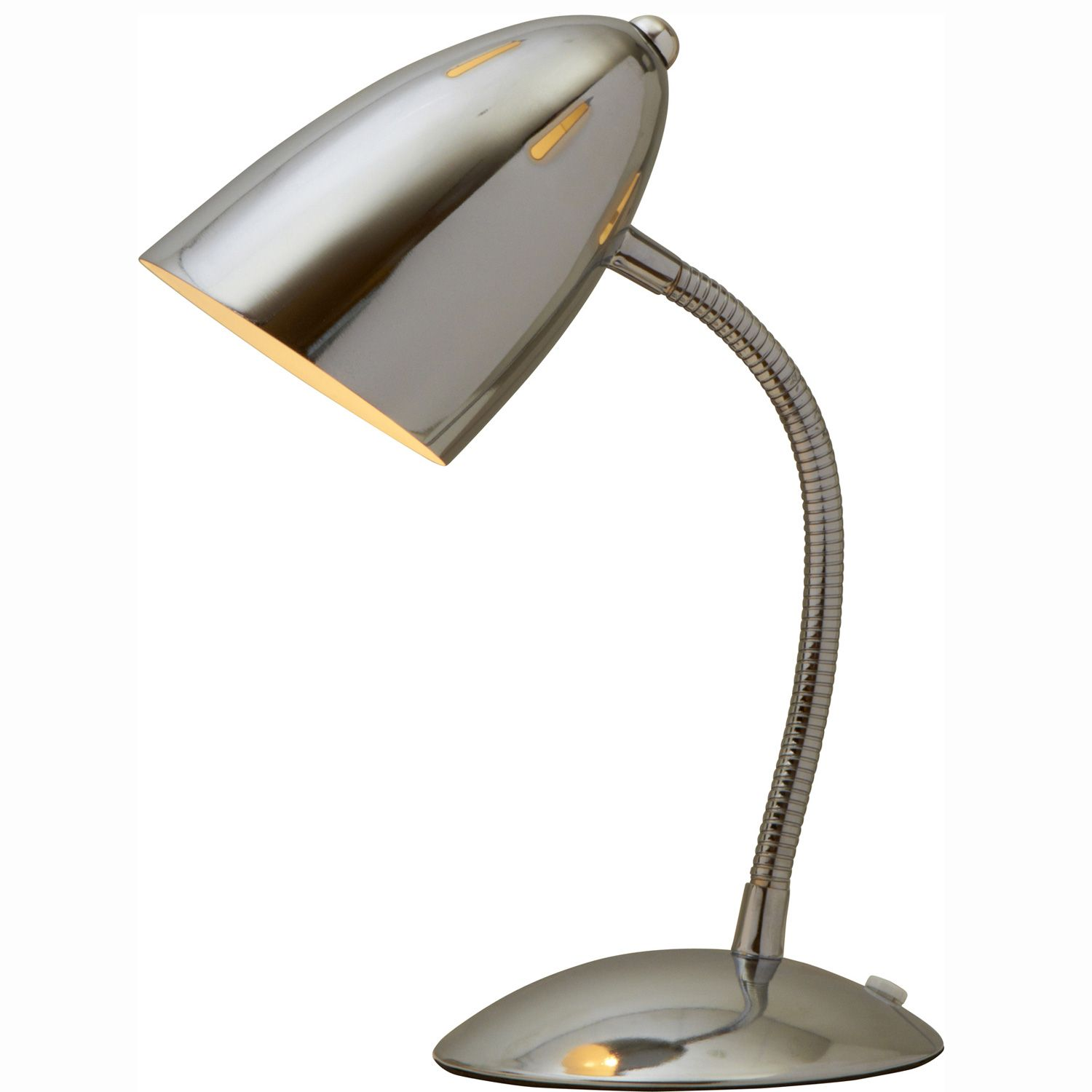 Bullett flexi metal desk lamp chrome lighting pinterest desk bullett flexi metal desk lamp chrome aloadofball Images