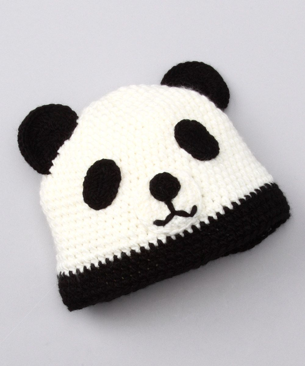 Panda hat | Crochet 1 | Pinterest