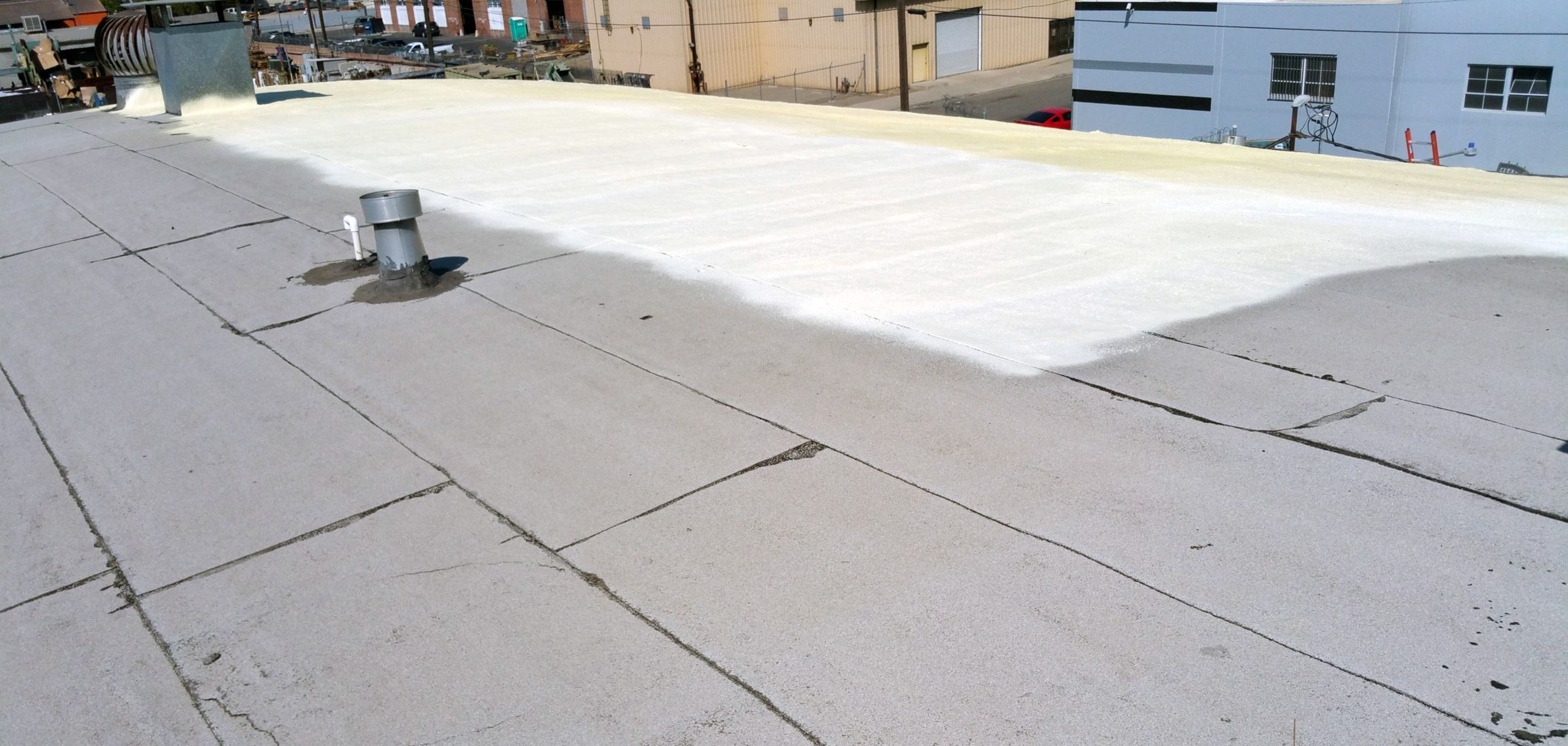 Spray Foam Roofing Waterproofing Masterpkg Spray Foam Roofing Foam Roofing Spray Foam