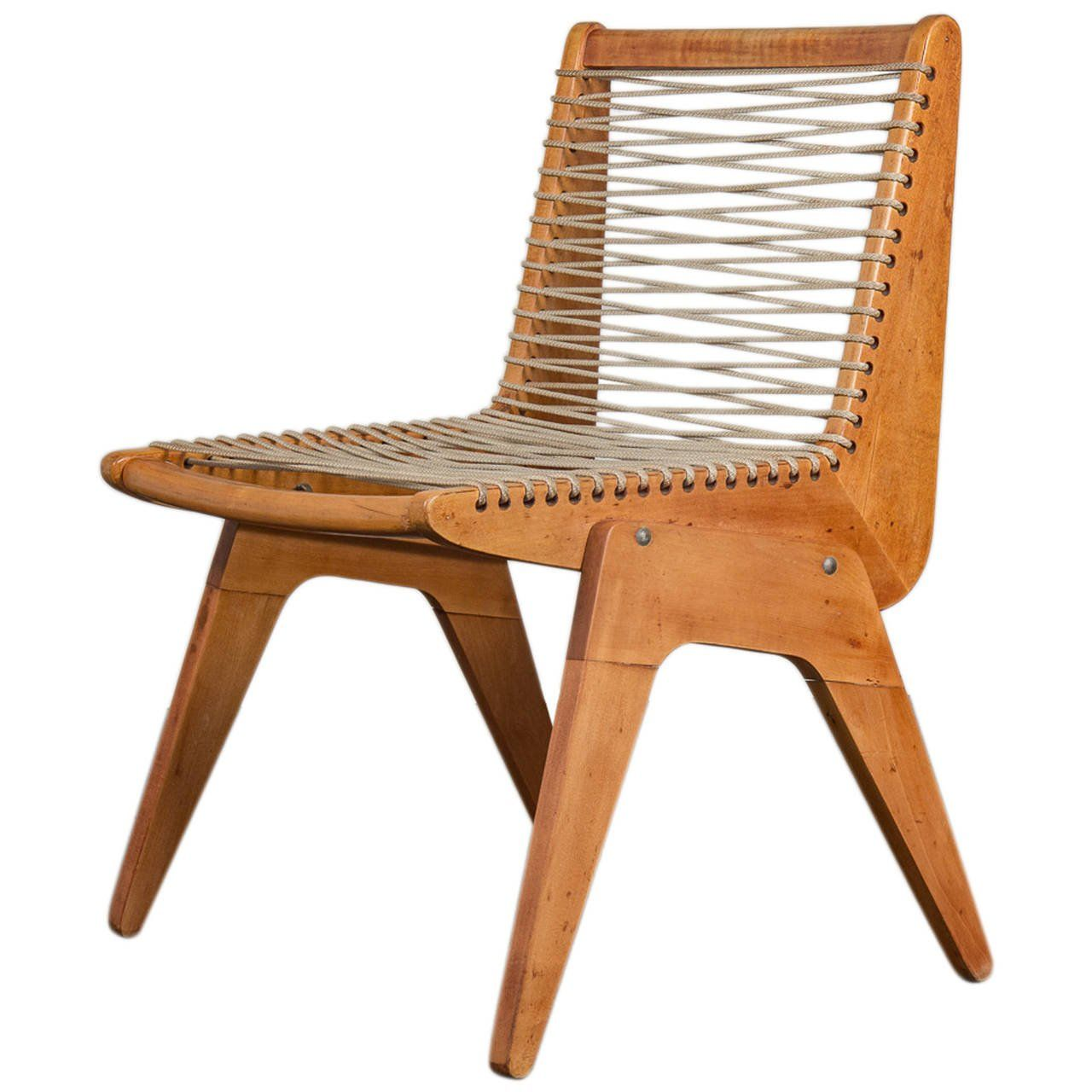 Kingston Rope Chair For Sale At 1stdibs