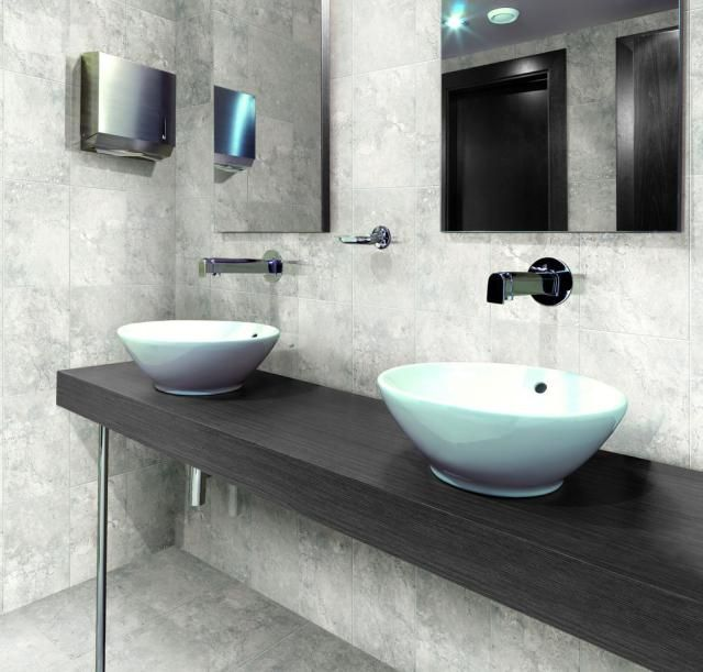 30 Bathroom Tiles You Will LOVE | Porcelain tiles, Gray and Tiles ...