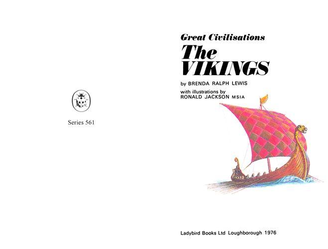 Great Civilisations: The Vikings - Ladybird Books