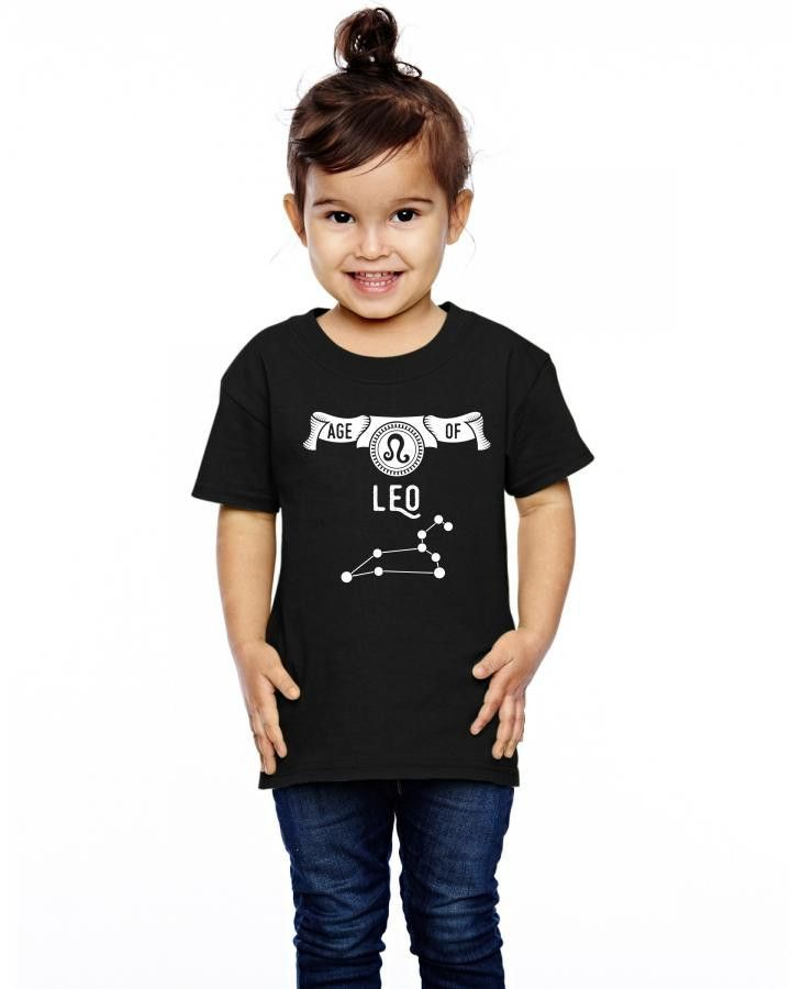 Age Of Leo Toddler T-shirt