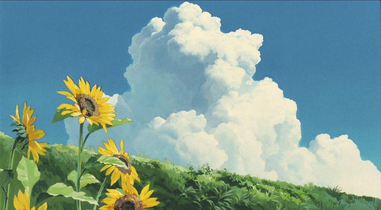 Studio Ghibli The Floral Art Of Studio Ghibli Ghibli Artwork Studio Ghibli Background Studio Ghibli Art