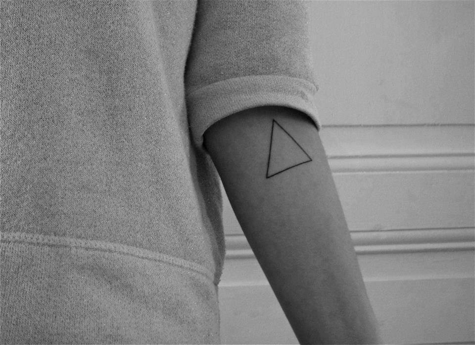 alt-J tatoo & band the triangle has soo many meanings for me