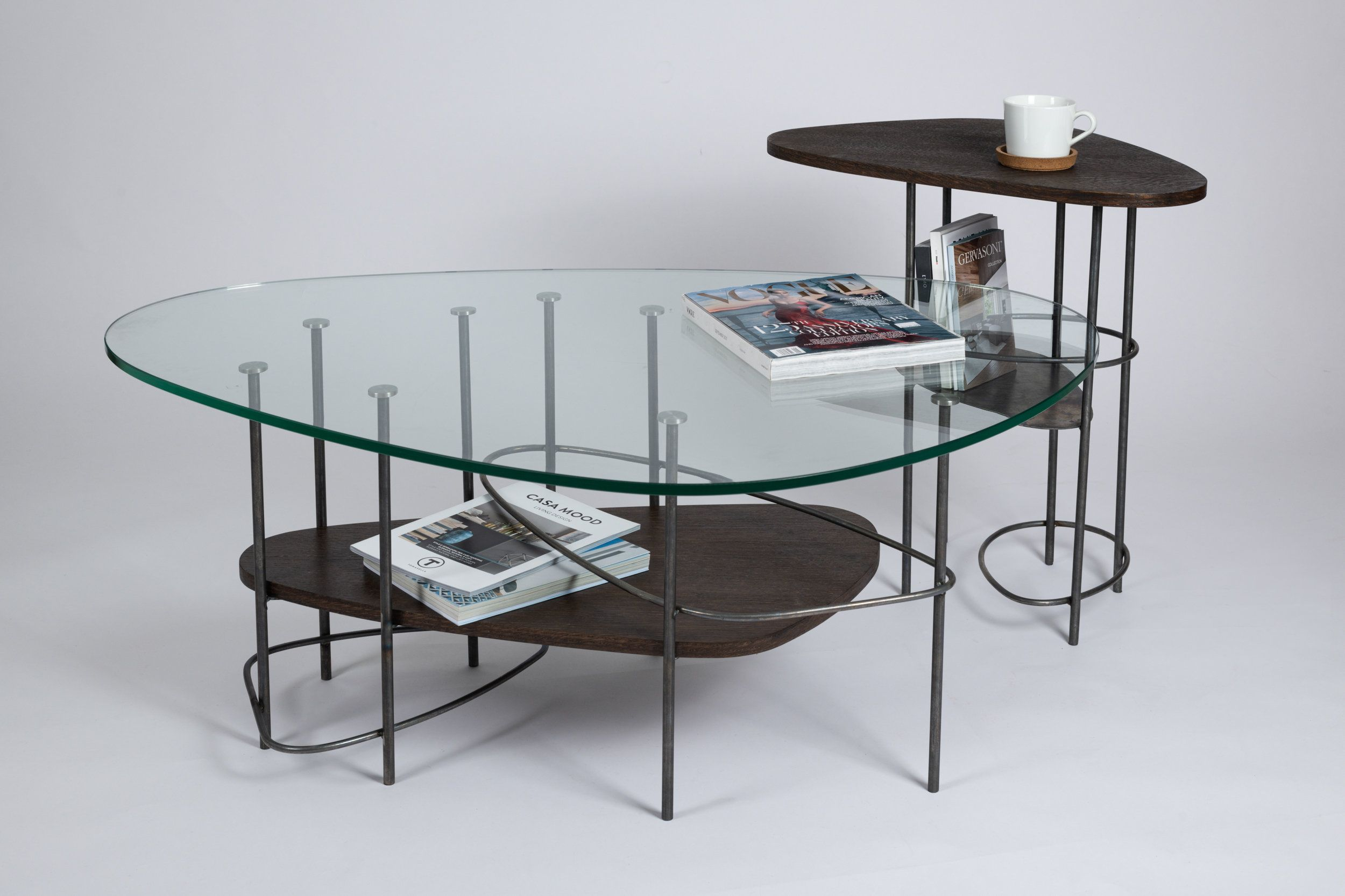Glass Coffee Table Glass Metal And Wood Coffee Table Unique Designer Coffee Table Bigcoffeetable Conte Coffee Table Coffee Table Wood Glass Coffee Table [ 1667 x 2500 Pixel ]
