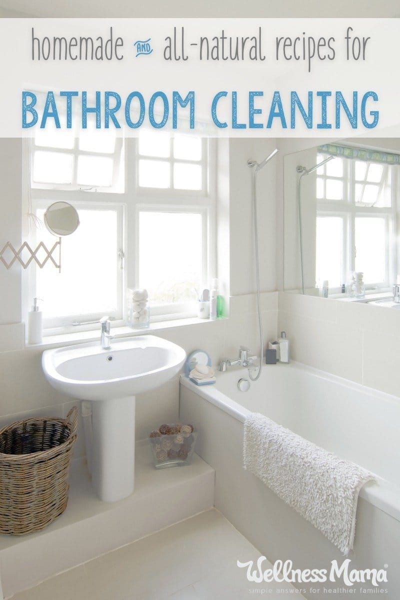 Natural Bathroom Cleaning Tips Natural Bathroom Cleaning And Zero - Natural bathroom tile cleaner