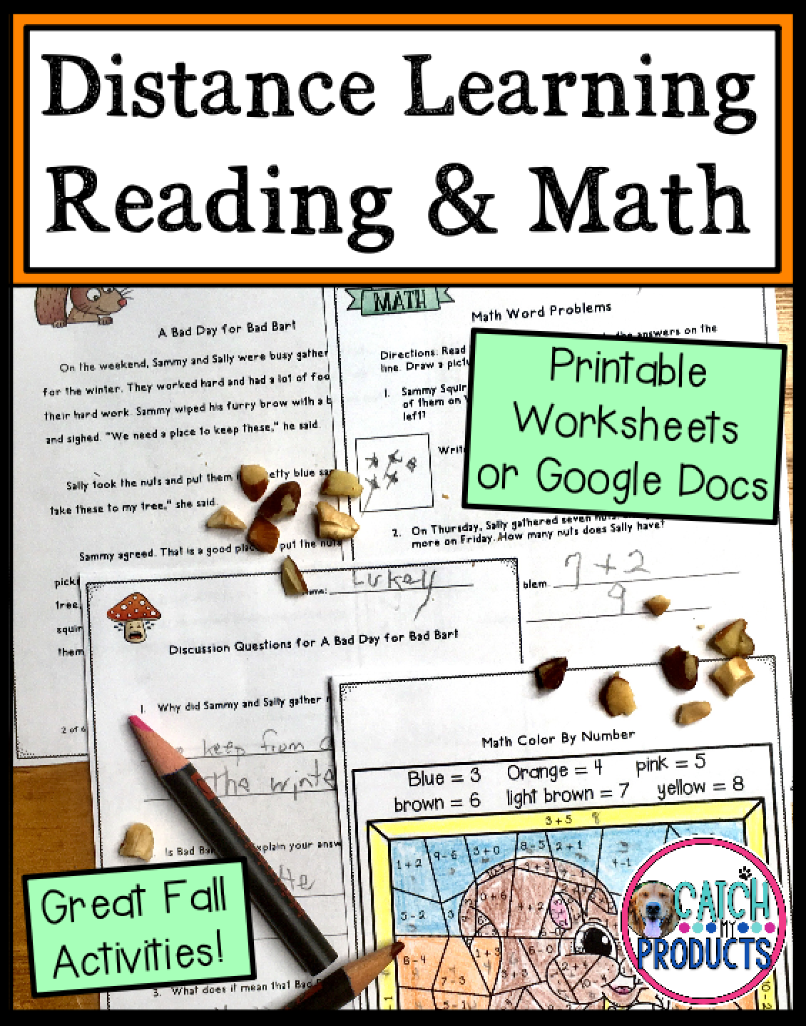 Distance Learning Reading Comprehension And Math