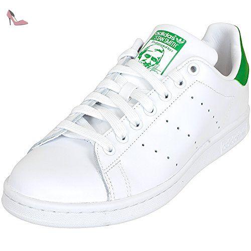Stan Smith, Sneakers Basses Homme, Noir (Cblack/Cblack/Ftwwht), 42 EUadidas