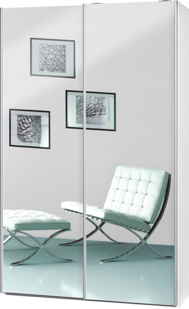CS Schmal Garderoben-Schrank weiß, »Soft Smart«, FSC®-zertifiziert - schrank wohnzimmer weiß