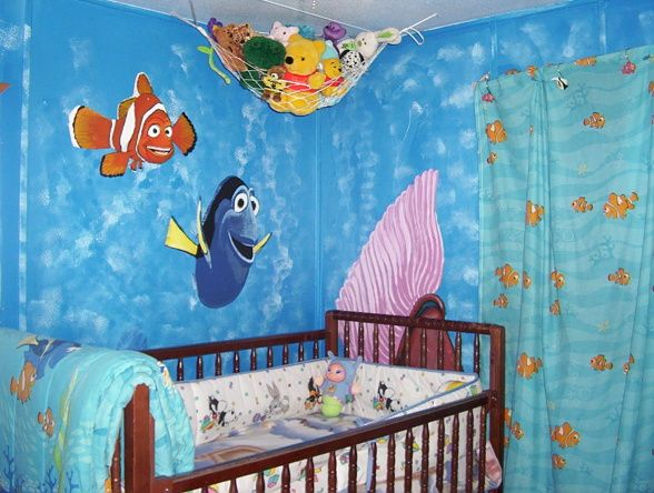 Finding Nemo Nursery Room Kids Rugs
