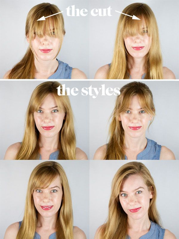 How to Get Long Bangs Out of Your Face