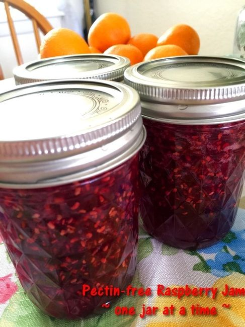 Raspberry Jam - One Jar at a Time  http://www.momspantrykitchen.com/raspberry-jam---one-jar-at-a-time.html