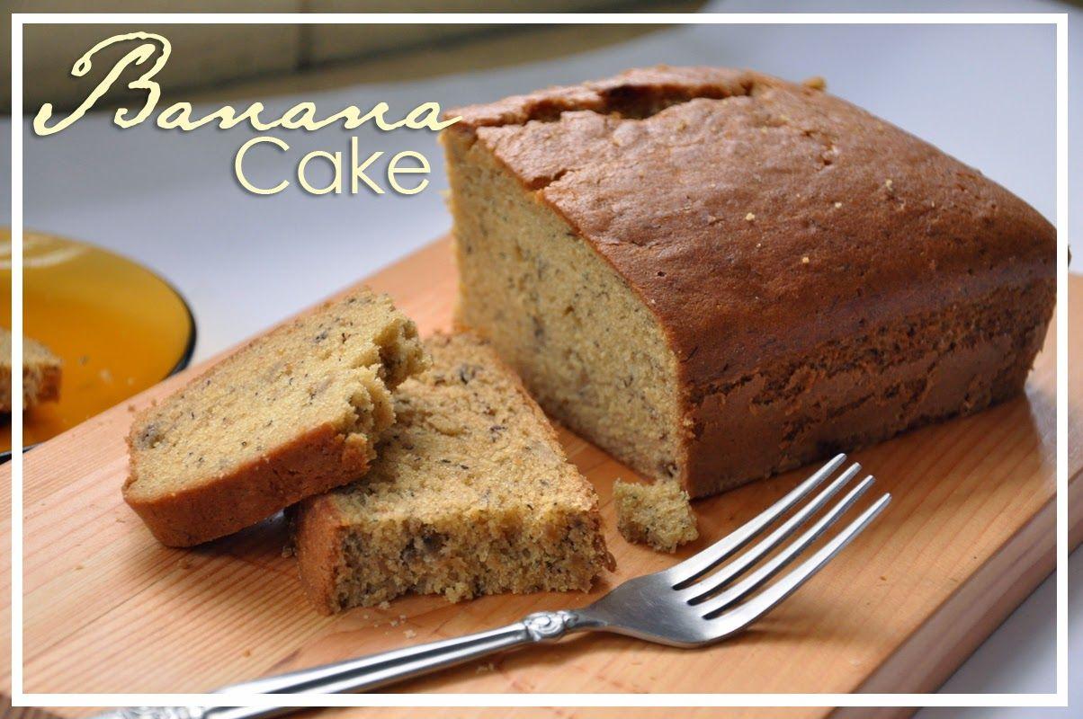 Resep Cake Pisang Ambon Panggang Lembut Dan Sederhana