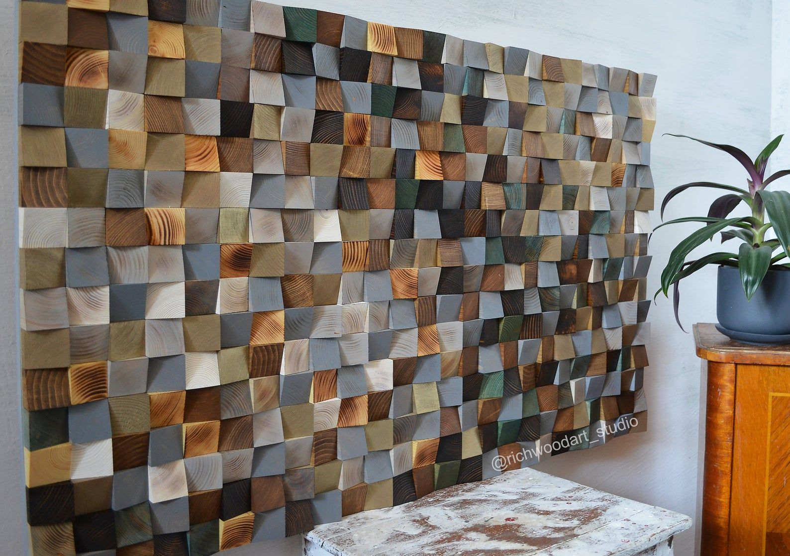 Spring Awakening Scandinavian Wood Wall Art Modern Wood Wall Sculpture Abstract Wood Painting In Gray White Brown Natural In 2020 Wood Wall Sculpture Brown Wall Art Wood Wall