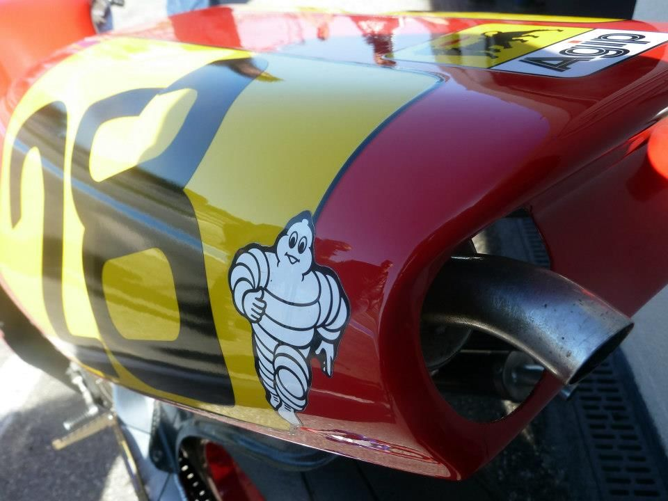 Motos de course anciennesLe Castellet 2013 Cagiva