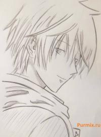 Kak Narisovat Kej Takisima Iz Anime Iz Specklassa A Prostym