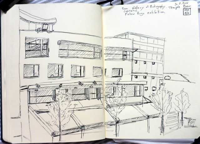 MHBD's Blog: Dublin Sketchers Temple Bar