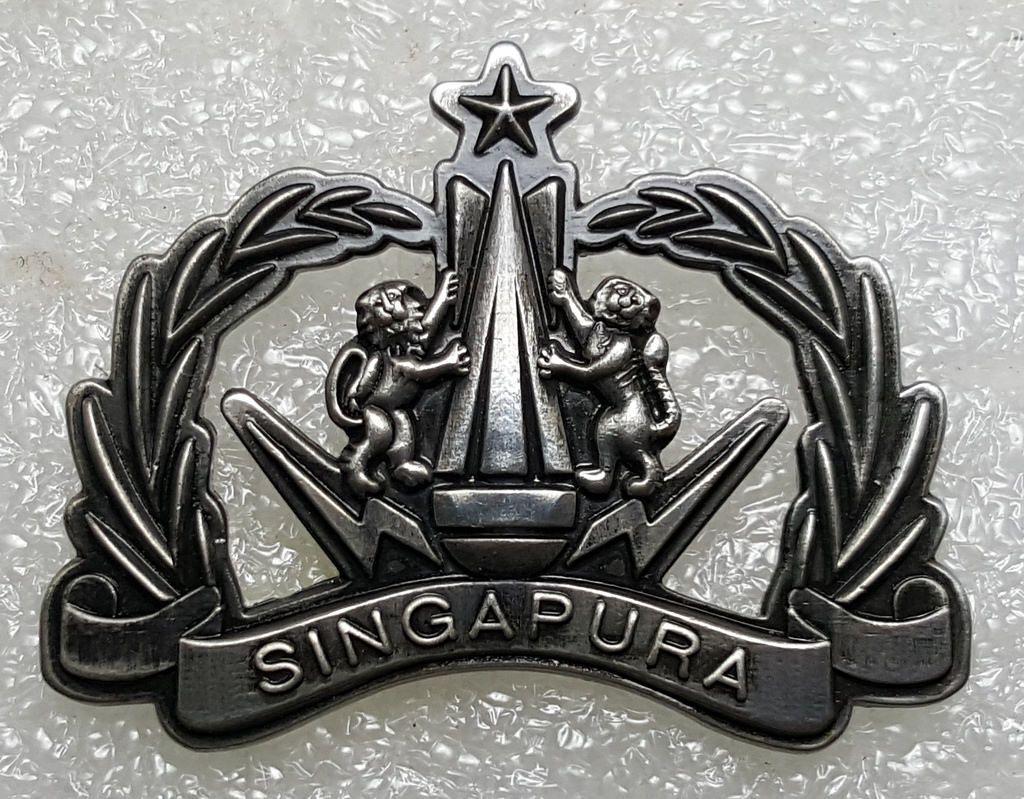 Singapore Army Senior Explosive Ordnance Disposal Eod Subtle