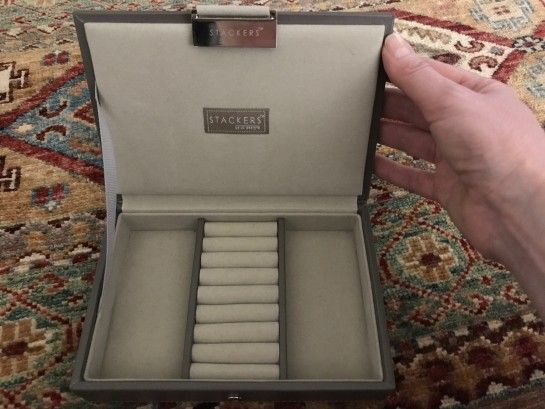 travel jewelry box from the container store Jewelry Storage