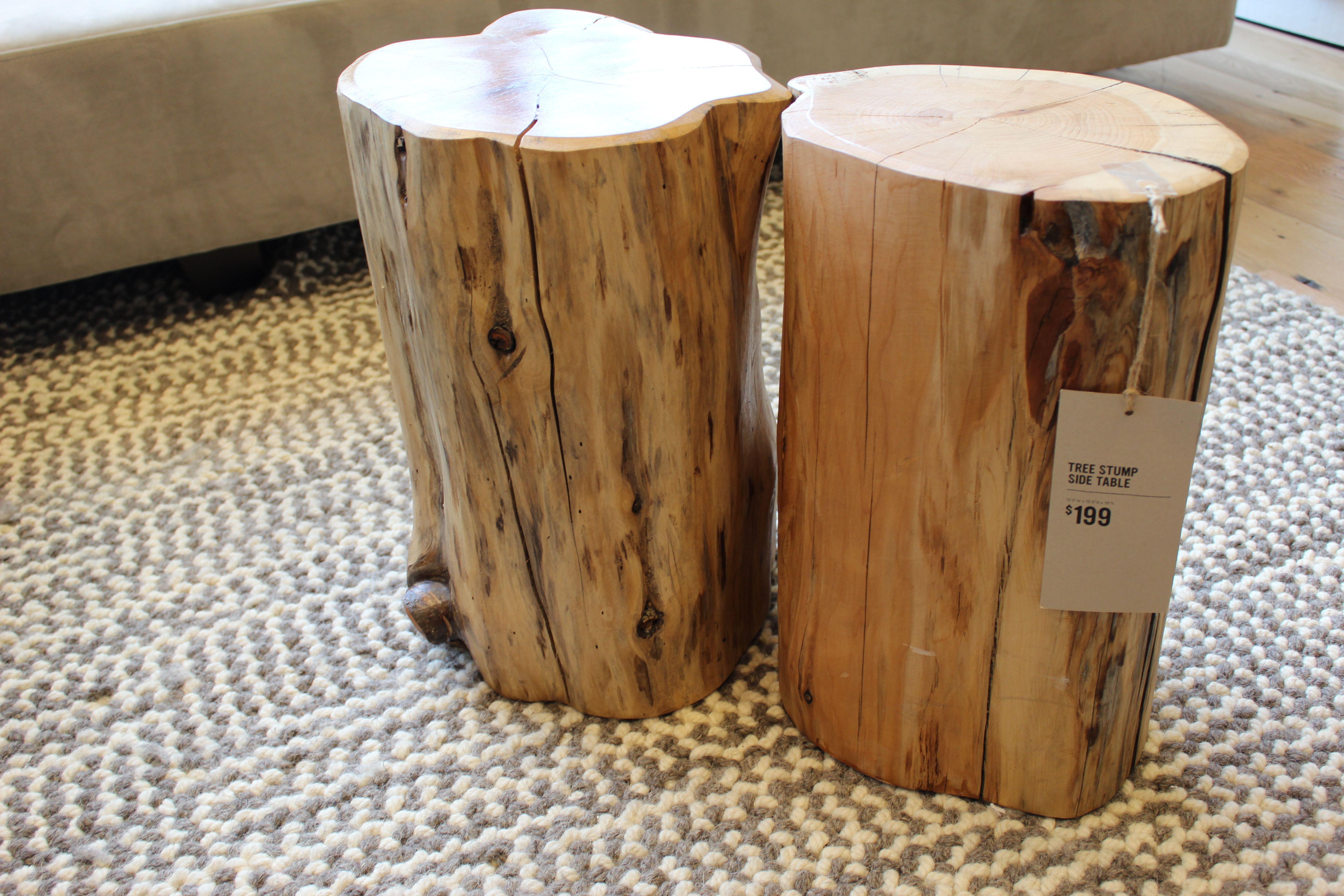 Tree Stump Table Singapore 6600 Coffee Table Wood Trunk Side