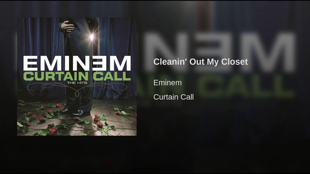 Cleanin' Out My Closet Guilty conscience, Eminem, Eminem