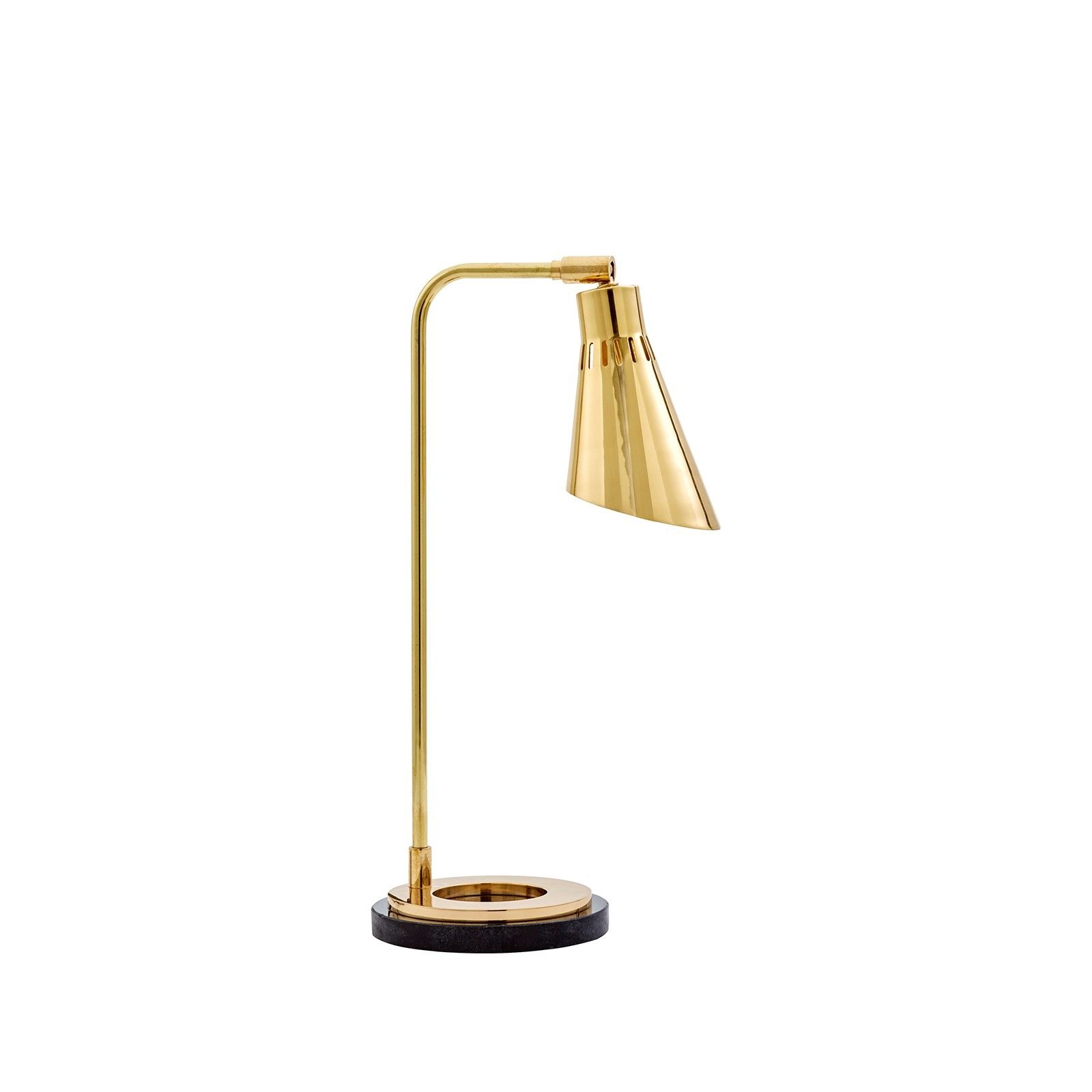 Bungalow 5 seville polished brass table lamp aloadofball Images
