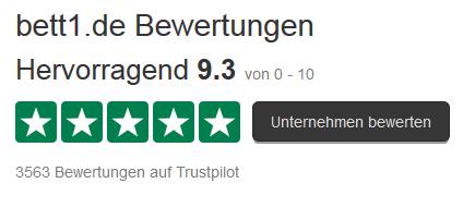 Bett1 De Erfahrungen : trustpilot bewertungen hervorragend 9 3 10 ~ Watch28wear.com Haus und Dekorationen