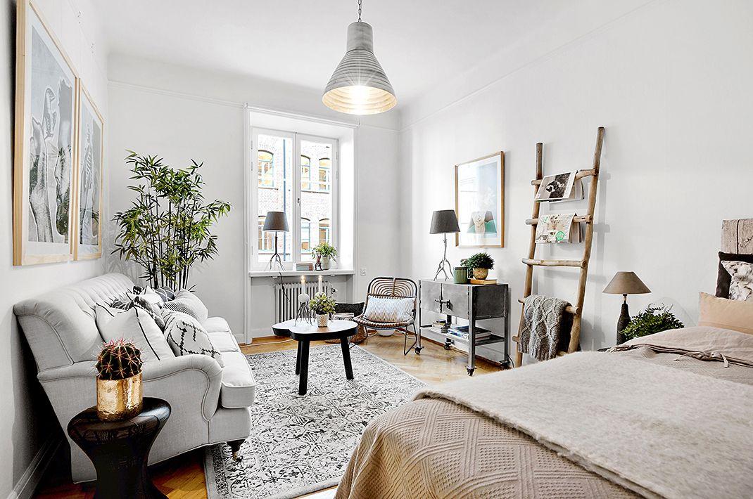Idée d\'aménagement studio | Studioappartement dekoration ...