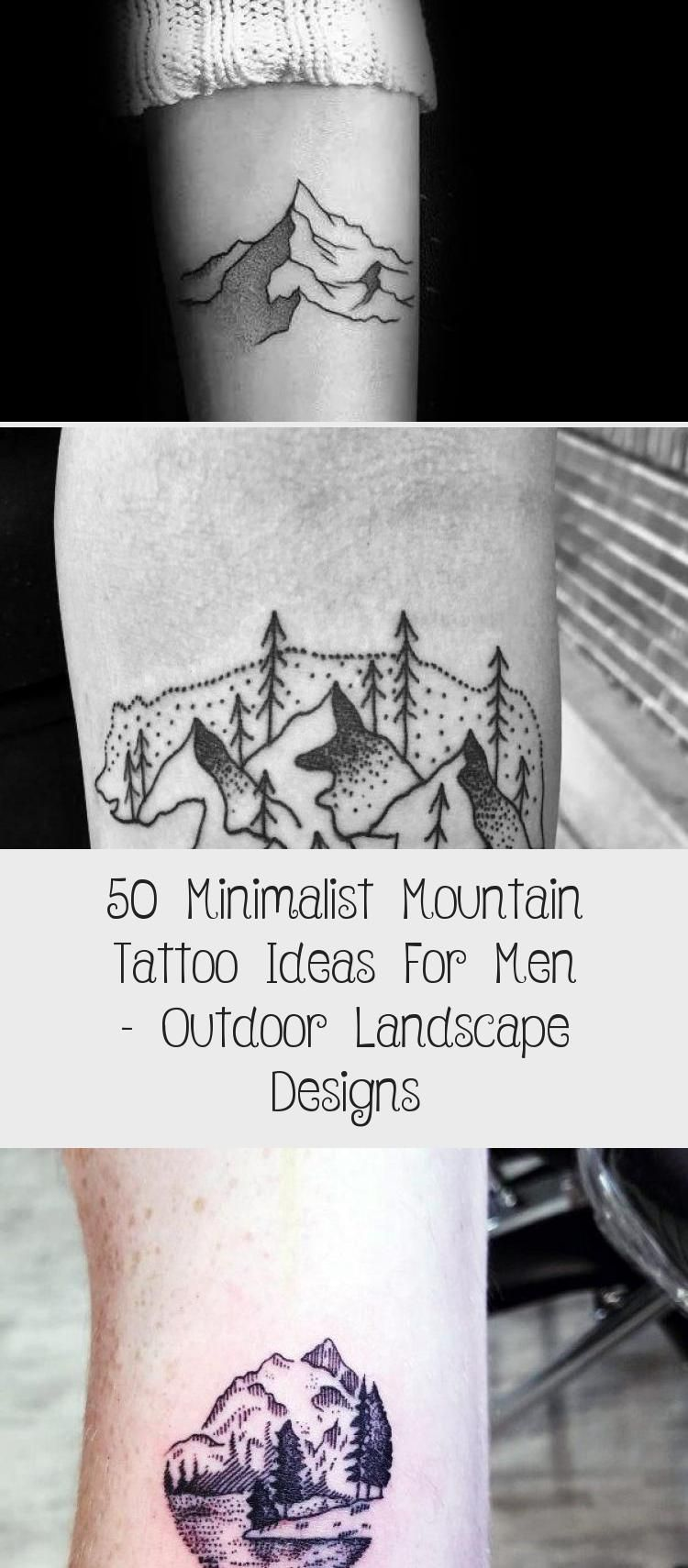 Photo of Amazing Mens Minimalist Mountain Tattoo Designs #minimalisttattooMatching #minim…
