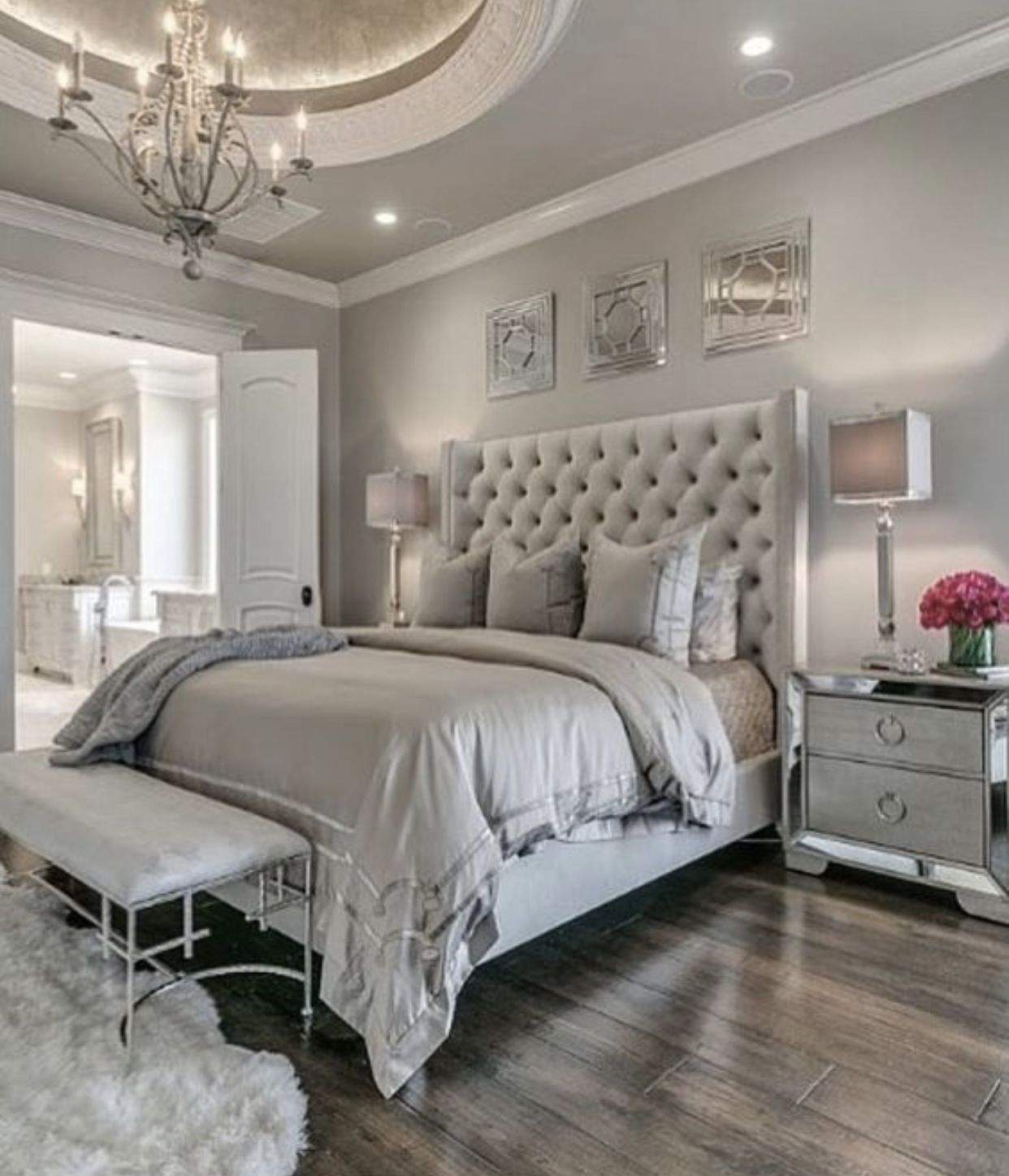 #modernrusticbedroom