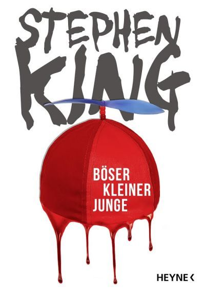 """German edition of """"BAD LITTLE KID"""" by Stephen King. Brand new short story, exclusively available in french & german !  Cover by the german publisher : Heyne Verlag"""